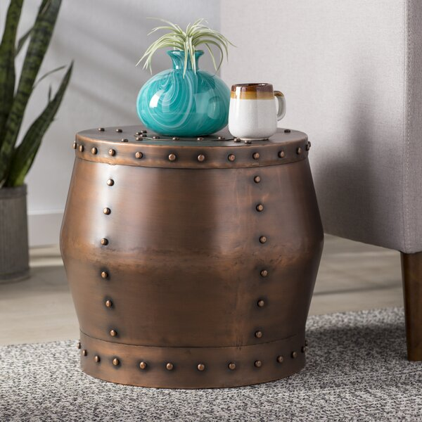 Espinoza End Table by Bloomsbury Market