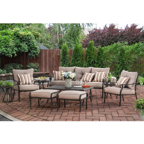 Tyrell 8 Piece Sofa Set with Cushions by Darby Home Co