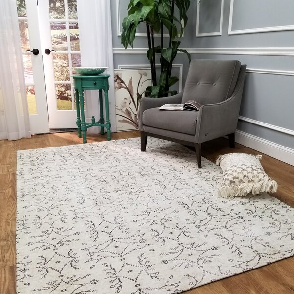Wooldridge Karinca Ivory Area Rug by Bloomsbury Market
