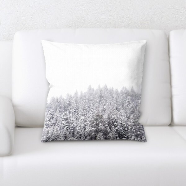 Winter Feeling (36) Throw Pillow by Rug Tycoon