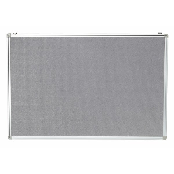 Aluminum Framed Wall Mounted Bulletin Board by NeoPlex