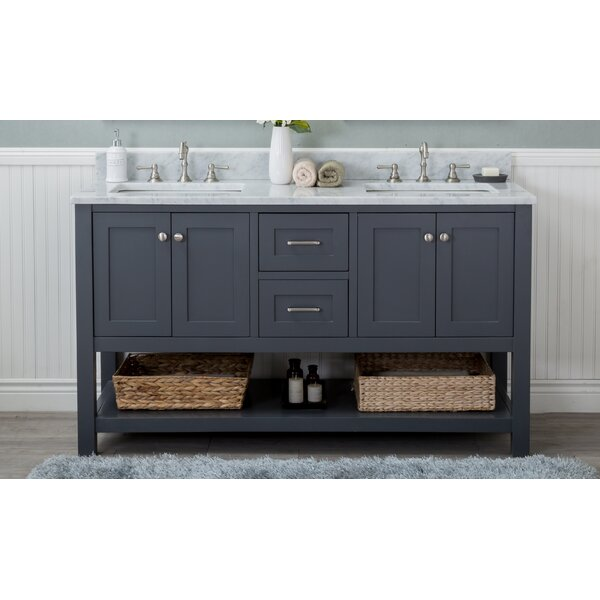 Malek 60 Double Bathroom Vanity Set by Winston Porter