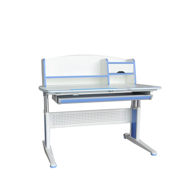 Hendrick Adjustable Kids Study Desk with Book Shelf by Zoomie Kids