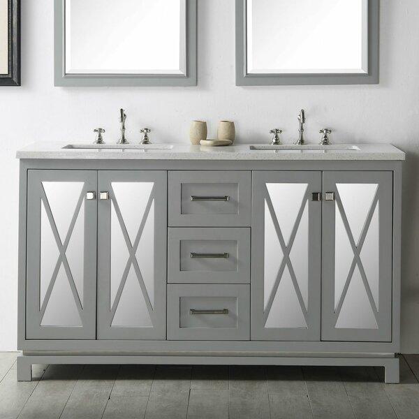 Sandie 60 Double Bathroom Vanity Set