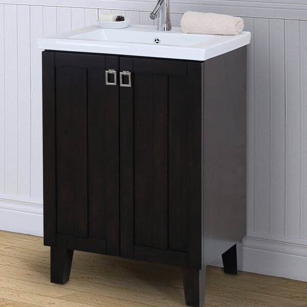 24 Single Bathroom Vanity Set by InFurniture