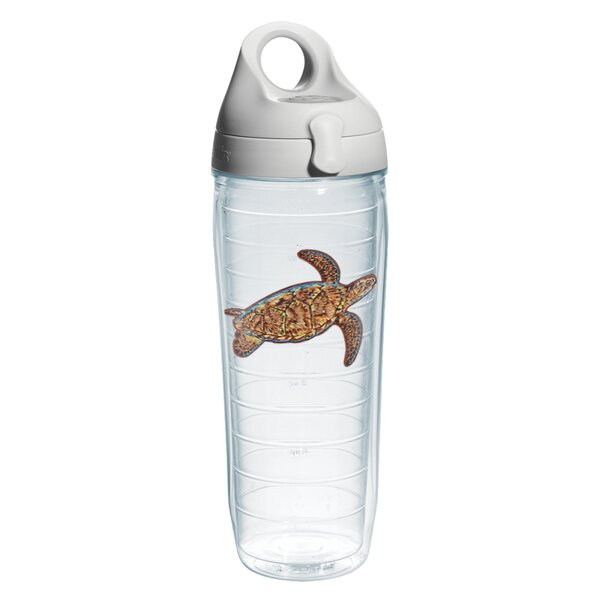 Guy Harvey Sea Turtle Plastic Water Bottle by Tervis Tumbler