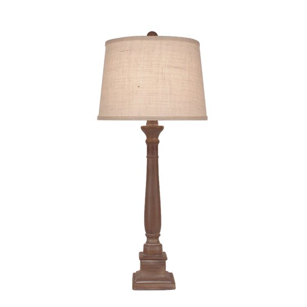 Essex Square Candlestick 33 Table Lamp by Bay Isle Home