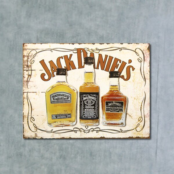 Jack Daniels Wall Décor by Adeco Trading