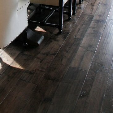 Farmhouse 7-1/2 Engineered Maple Hardwood Flooring in Tobacco by Albero Valley