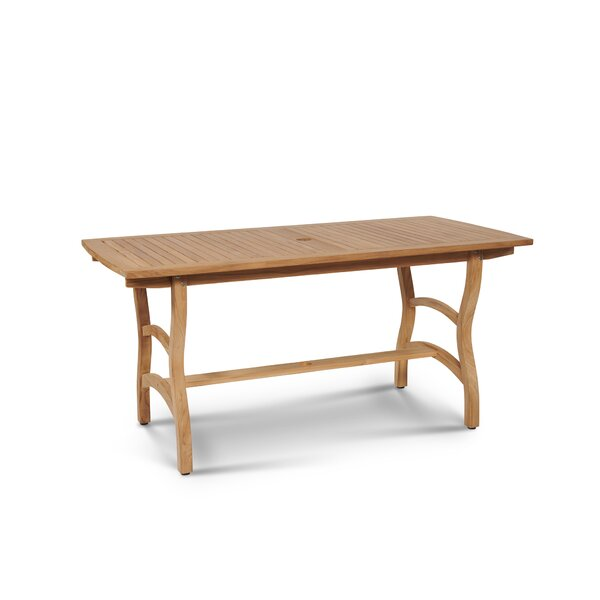 Marcell Teak Dining Table by Rosecliff Heights Rosecliff Heights