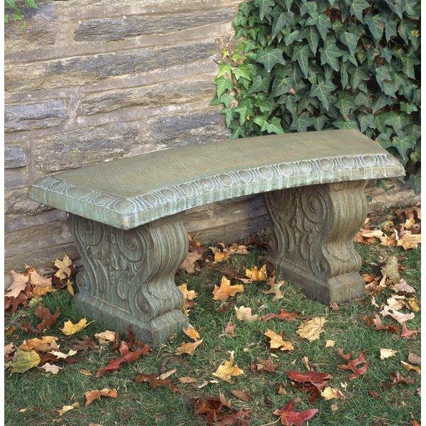 Friel Curved Traditional Bench by Astoria Grand Astoria Grand