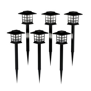 Read Reviews Solar Coach 1 Light Pathway Light (Set of 6) By Pure Garden