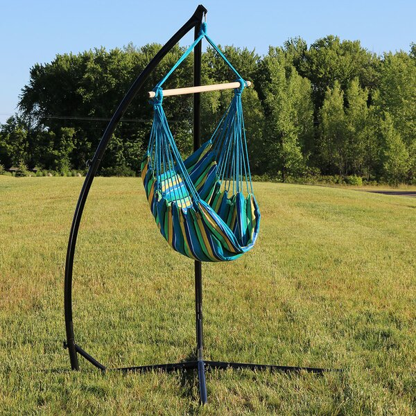 Sippel Durable Chair Hammock with Stand by Bay Isle Home