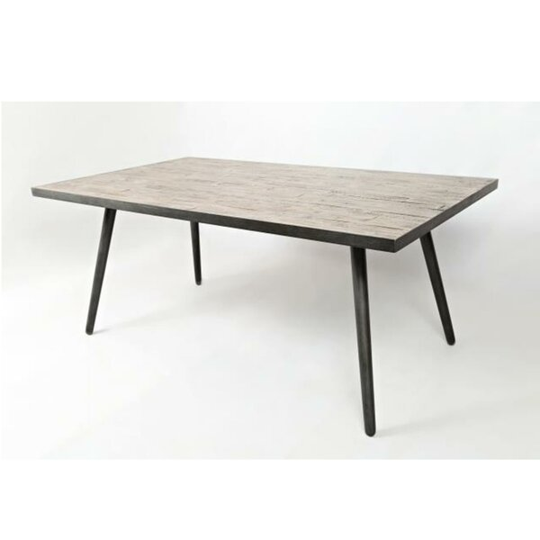 Aaden Wooden Dining Table by Union Rustic