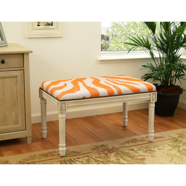 Niccolo Upholstered And Wood Bench By World Menagerie