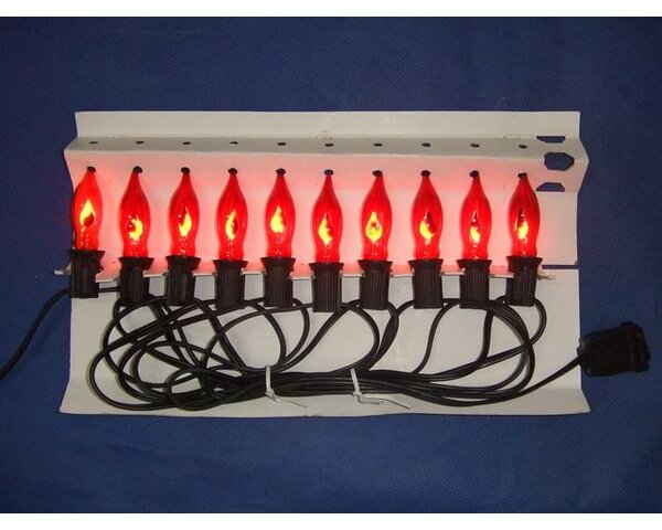 Flicker Standard Incandescent C7 LED by Queens of Christmas
