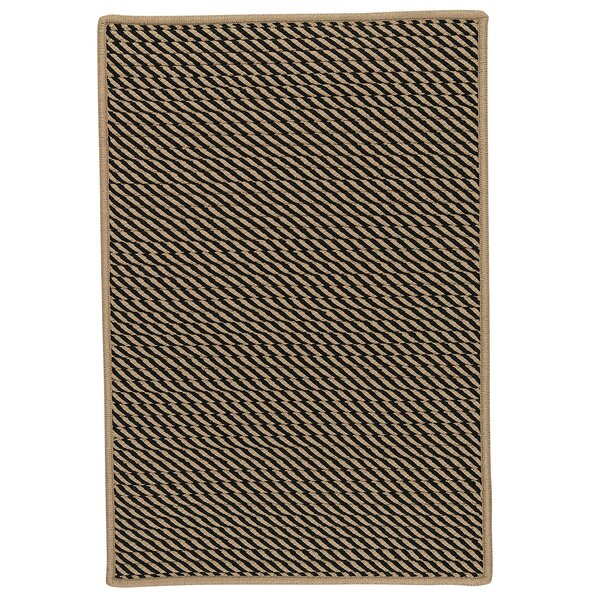 Mammari Hand-Woven Black Indoor/Outdoor Area Rug by Bay Isle Home