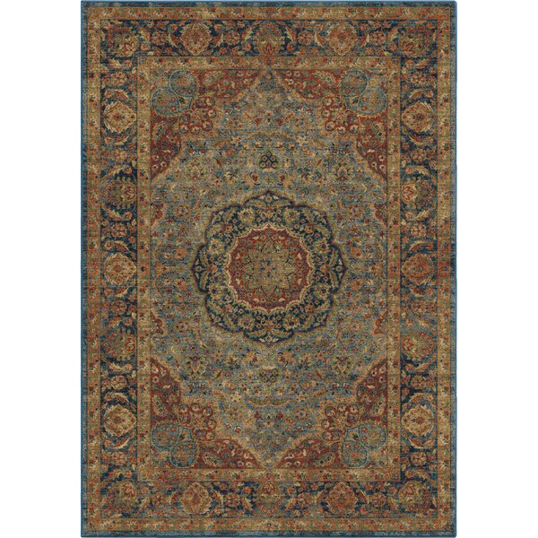 Lilah Blue/Beige Area Rug by Darby Home Co
