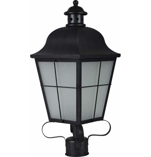 Outdoor 3-Light Lantern Head by Volume Lighting