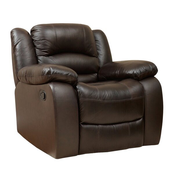 Review Jorgensen Leather Manual Recliner