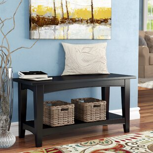Read Reviews Bel Air Wood Storage Bench ByAlcott Hill