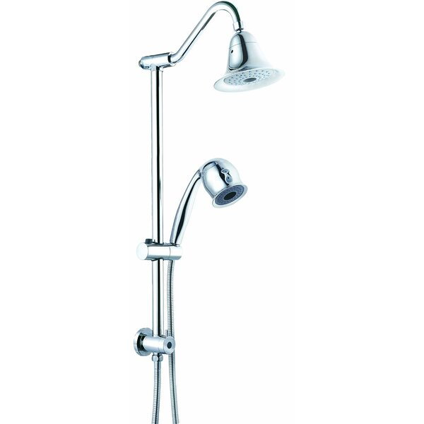 Sliding Rain Dual Shower Head By CSI Bathware