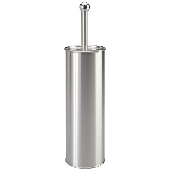 Stainless Steel Free-Standing Toilet Brush and Holder by Bath Bliss