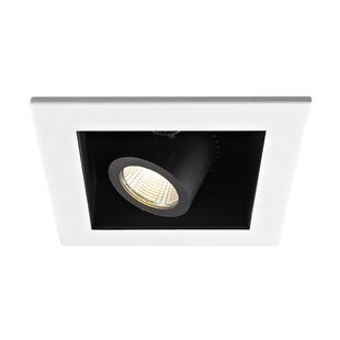 Price Check Precision LED 4 Adjustable Recessed Trim By WAC Lighting