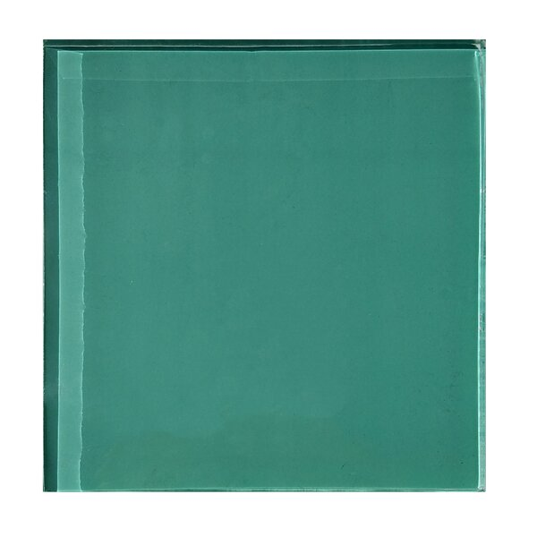 Autunno 4.25 x 4.25 Glass Field Tile in Turquoise by Abolos