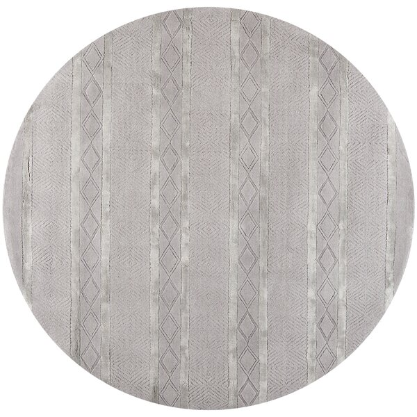 Bayswater Hand-Woven Wool Light Gray Outdoor Area Rug by Ivy Bronx