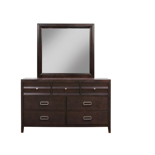 Legacy 7 Drawer Standard Dresser by Darby Home Co