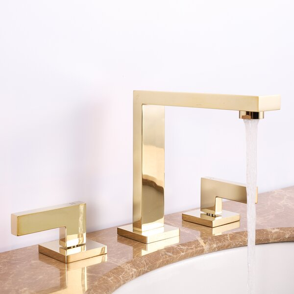 Widespread Bathroom Faucet With Drain Assembly By BNK Bathroom & Kitchen Inc