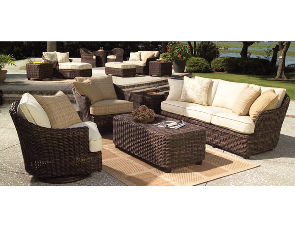 Sonoma 3 Piece Deep Seating Group by Woodard