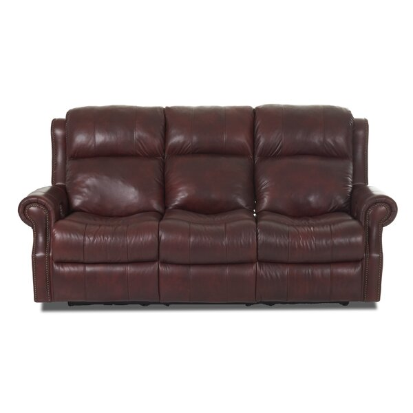 Defiance Genuine Leather Reclining 88