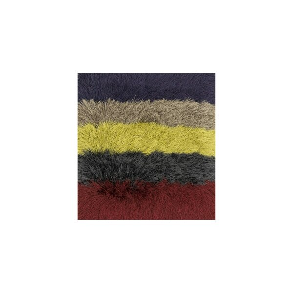 Hersi Hand-Tufted Red/Black/Yellow Area Rug by Latitude Run