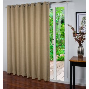 Spanish Steps Patio Geometric Blackout Thermal Grommet Single Curtain Panel