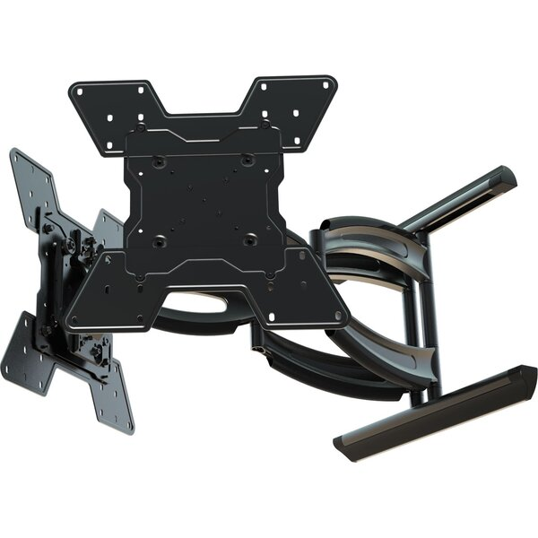 Hydra Digital Display Dual Monitor Tilt Wall Mount for 32 - 55 Flat Panel Screens by Crimson AV