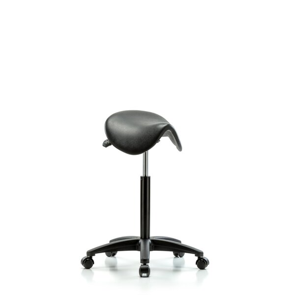 Height Adjustable Saddle Stool by Perch Chairs & Stools