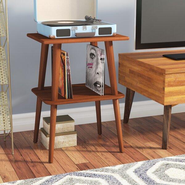 Wood Audio Rack By Corrigan Studio.