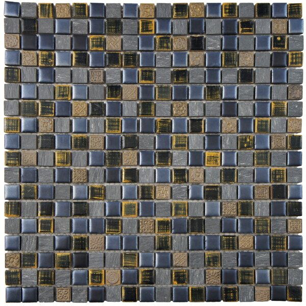Isle 0.63 x 0.63 Porcelain Mosaic Tile in Baltica by EliteTile