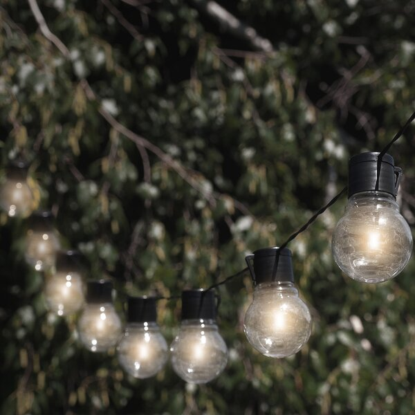Socialite 10-Light Globe String Light by Touch of ECO