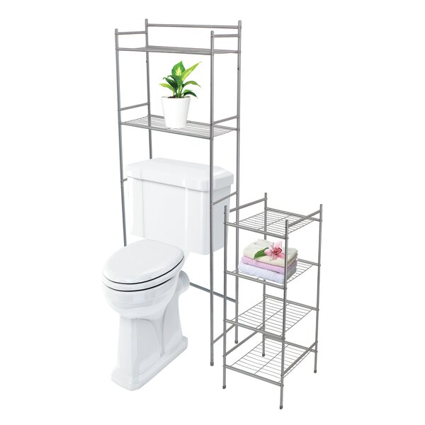 Westover 2 Piece 23 W x 56.5 H Over the Toilet Storage by Winston Porter