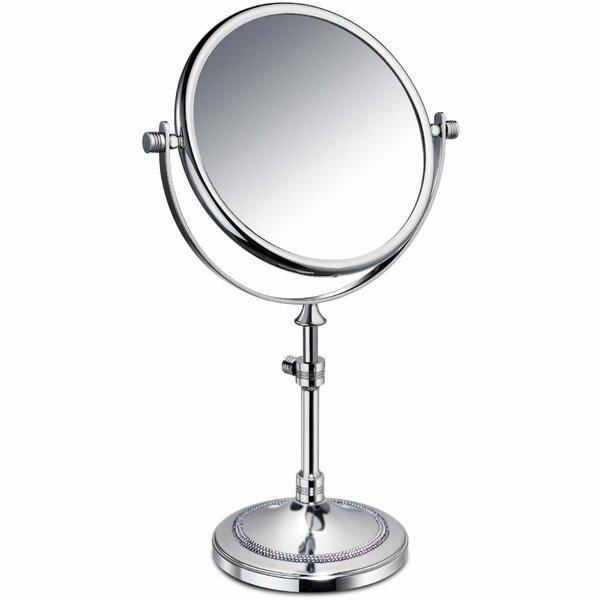 Pavilion Circular Makeup/Shaving Mirror by Rosdorf Park