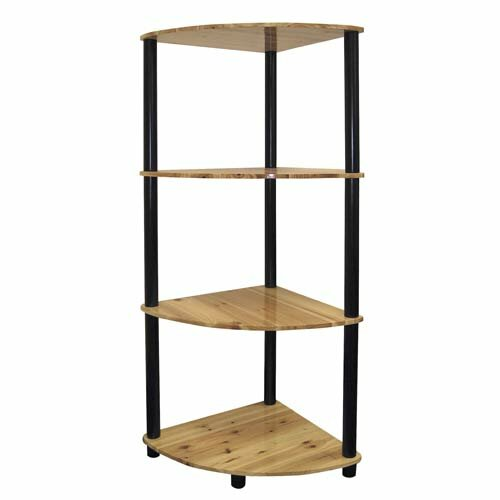 Ivy Hill Corner Unit Bookcase by Wrought Studio
