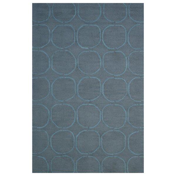 Wool Hand-Tufted Dark Gray/Blue Area Rug by Eastern Weavers