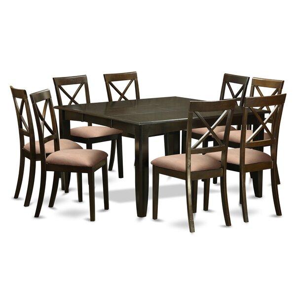 Pilning 9 Piece Dining Set by August Grove