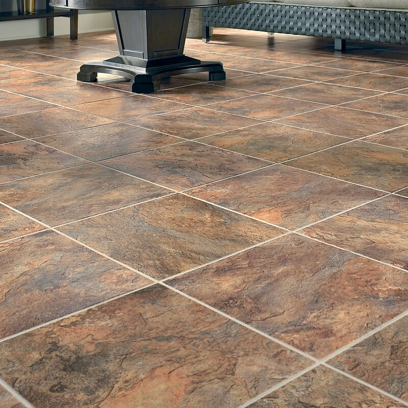 Duraceramic Sierra Slate 16 X 4 06mm Luxury Vinyl Tile In Terra