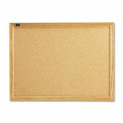 Cork Wall Mounted Bulletin Board by Quartet®