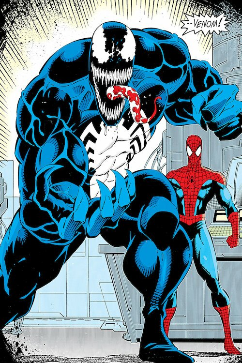 Icanvas Marvel Comics Retro Venom By Marvel Comics
