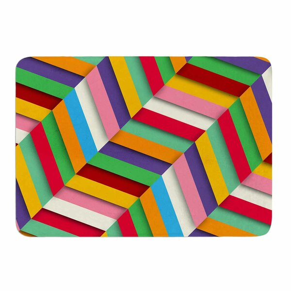 Excuse Me by Danny Ivan Memory Foam Bath Mat by East Urban Home
